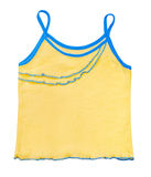 Children's yellow jersey for a girl Stock Photo