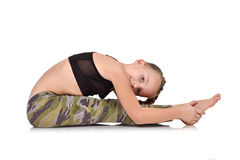 Children's yoga Stock Photography
