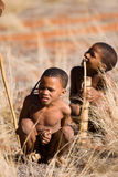 Children san bushman Stock Photography