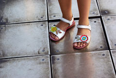 Children Sandals Royalty Free Stock Photos