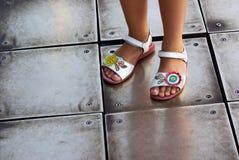 Children Sandals Royalty Free Stock Photos