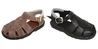 Children sandals Royalty Free Stock Image