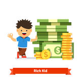 Children savings and finance concept Stock Photography