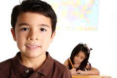 Children at School Stock Photo