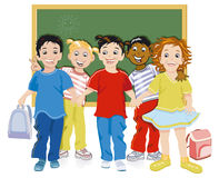 Children at school Royalty Free Stock Images