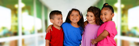 Children At School Royalty Free Stock Photography