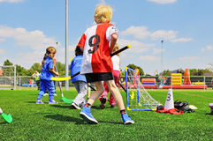 School children on sports day Royalty Free Stock Images