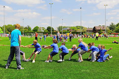 School children on sports day Royalty Free Stock Photography