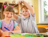 Children in school Stock Images