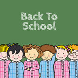 Children in school Royalty Free Stock Photos