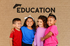 Children At School. Young children at school getting an education Royalty Free Stock Photos