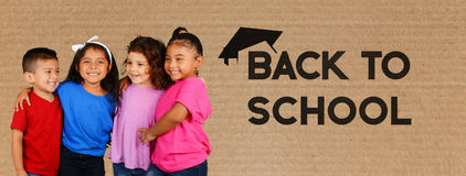 Children At School. Young children at school getting an education Stock Image