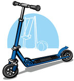 Children scooter Royalty Free Stock Images