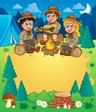 Children scouts theme image 3 Stock Photos