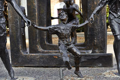 Children Sculpture - Bloch Cancer Survivors Park Royalty Free Stock Photo