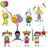 Children set party Stock Images