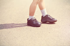 Children Shoes Stock Images