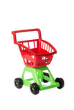 Children shopping trolley Stock Image