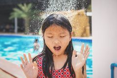 children shower royalty free stock image