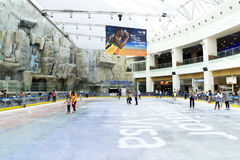 Children Skating Royalty Free Stock Image