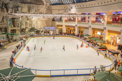 Children Skating Stock Image