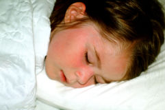 Children-Sleeping Girl stock photography