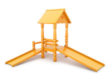 Children slide Stock Images
