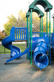 Children slide at the playground Royalty Free Stock Photography