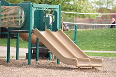 Children slide at the playground Royalty Free Stock Photo