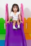 Children Sliding Stock Photo