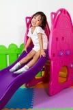 Children Sliding Royalty Free Stock Photos