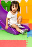 Children Sliding Stock Photos