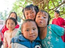 Children smile with happy stock photos