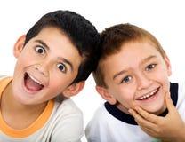 Children smiling Stock Images