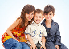Children smiling Royalty Free Stock Images