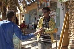 Children smiling, Ethiopia Royalty Free Stock Photography