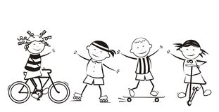 Children and sport Stock Photos