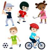 Children sport Stock Image