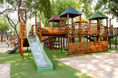 Children Stairs Slides exercise equipment Royalty Free Stock Photo