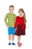 Children stand together Stock Images