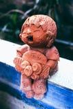 Children statue art closeup thailand Stock Photography