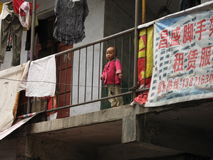 Children on the streets in China, Stock Images