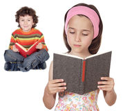 Children students Royalty Free Stock Photo