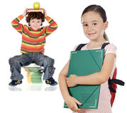 Children students Stock Photography