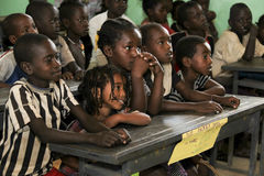 Children study at ethiopian school. Stock Images