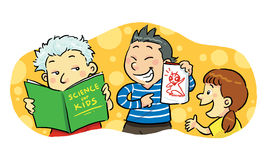 Children Study Group Stock Photos