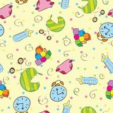 Children stuff pattern Stock Photos