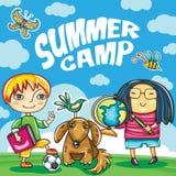 Children Summer camp series Stock Photos