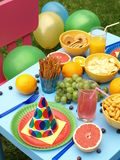 Children summer feast Stock Images