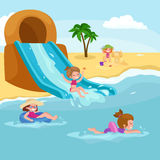 Children summer vacation.  Stock Images